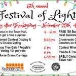 Festival of Lights Schedule